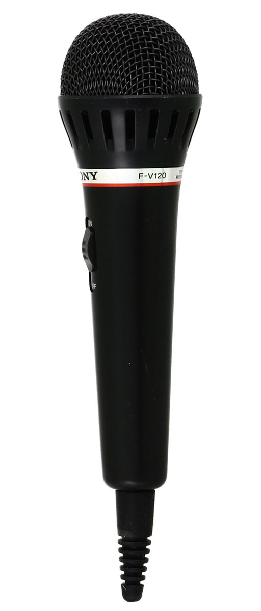 Sony F-V120, Black микрофон - Микрофоны