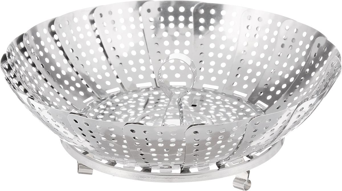 Пароварка Mayer & Boch, диаметр 23 см. 2131821318Пароварка Mayer & Boch выполнена из высококачественной нержавеющей стали и предназначена для готовки на пару и разогрева. Благодаря материалу пароварка не ржавеет, на ней не образуются пятна.Можно мыть в посудомоечной машине.Диаметр: 23 см. Толщина стенок: 0,4 мм.