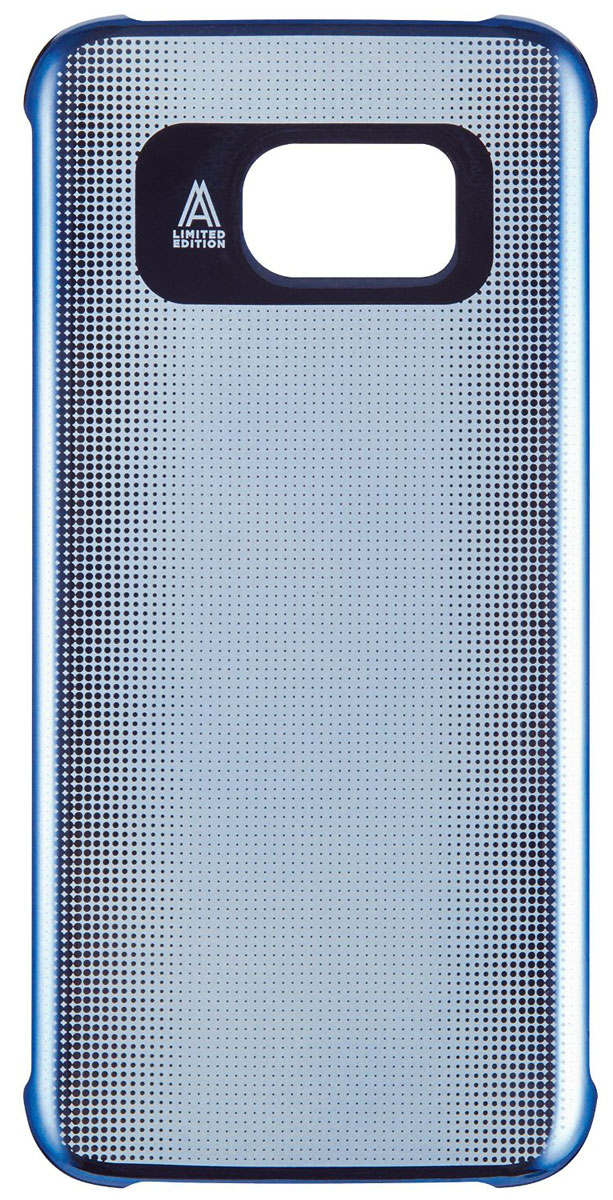 Anymode Metalizing Hard чехол для Samsung Galaxy S7, Blue deppa для samsung galaxy s7 edge pastel ирисы прозрачный