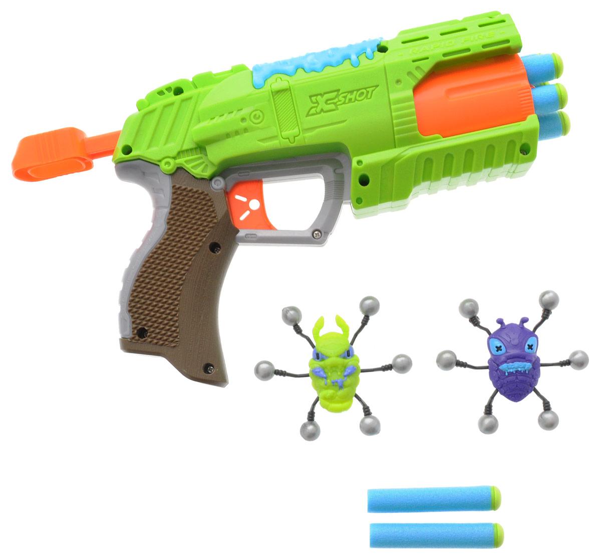 XSHOT Бластер Атака пауков бластер x shot атака пауков зеленый коричневый красный 4815