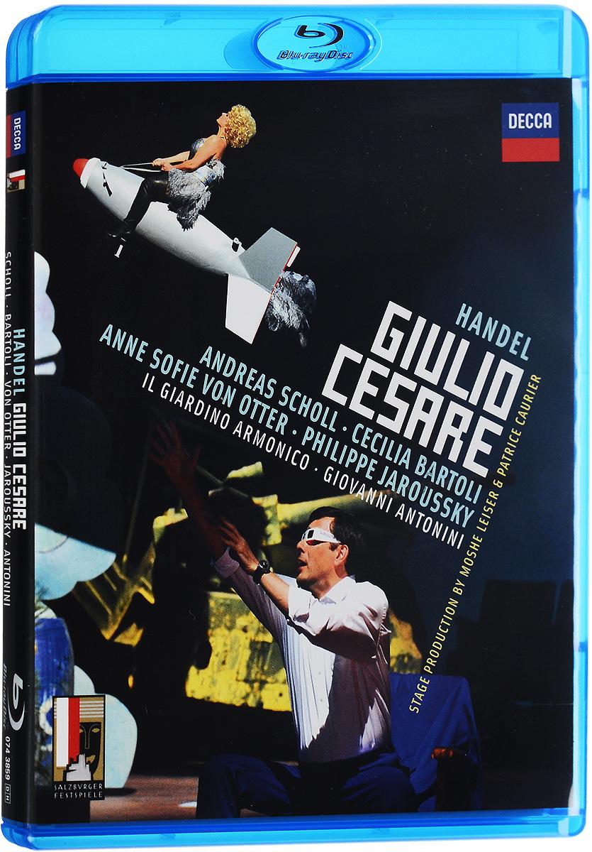Handel, Giovanni Antonini: Giulio Cesare (Blu-ray) handel the glories of handel opera