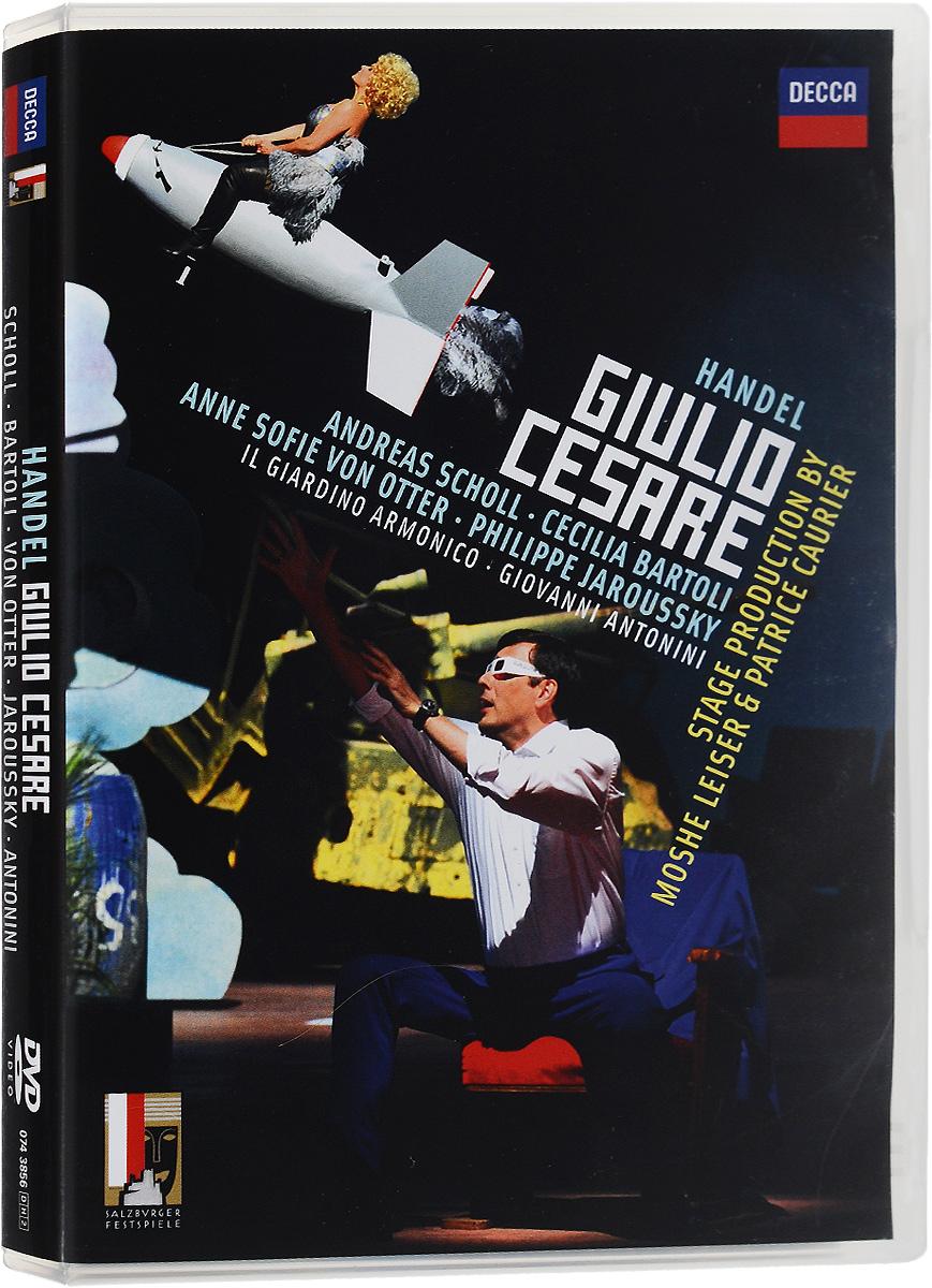 Handel, Giovanni Antonini: Giulio Cesare (2 DVD) ameling marriner handel messiah