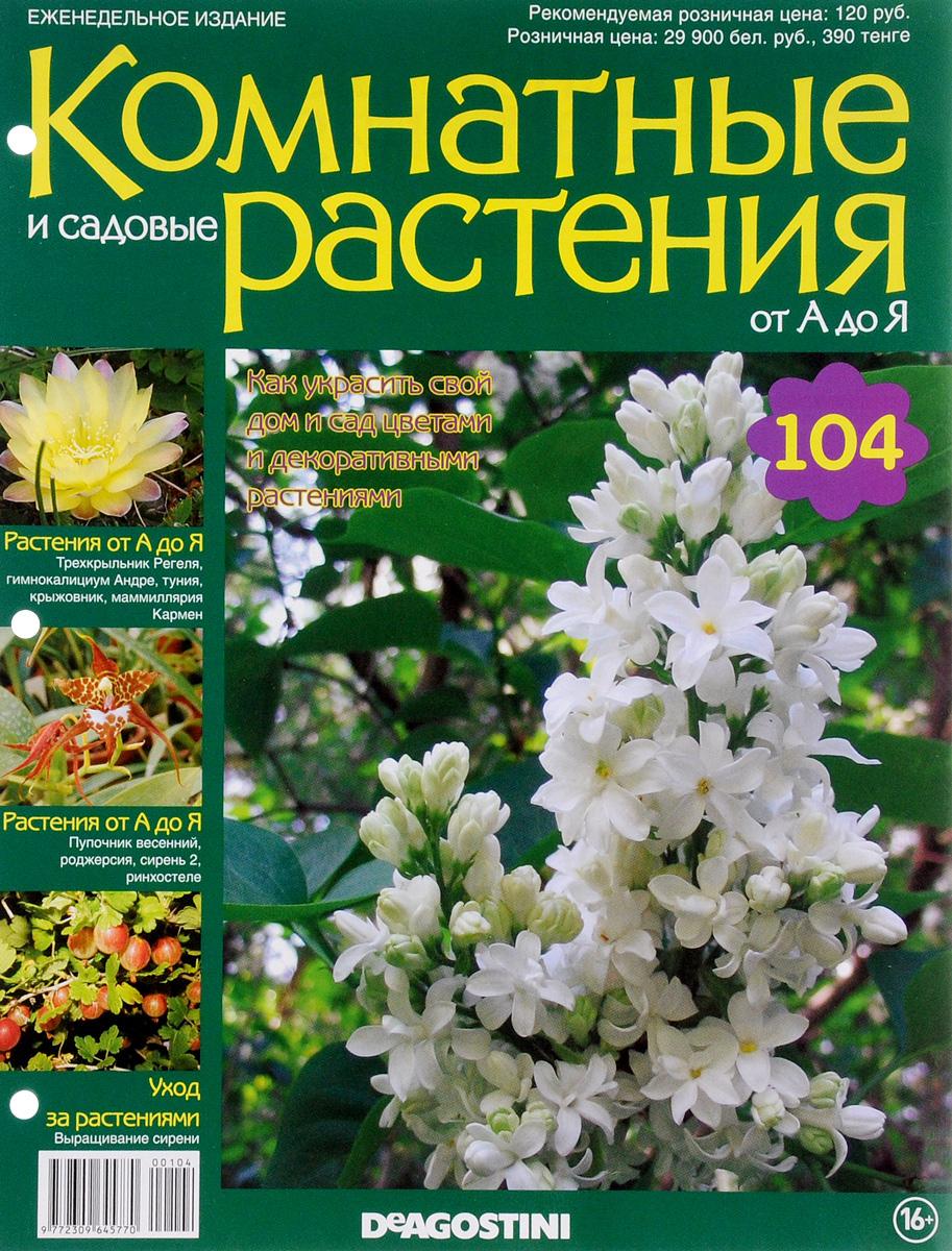 Журнал Комнатные и садовые растения. От А до Я №104 лесоповал я куплю тебе дом lp