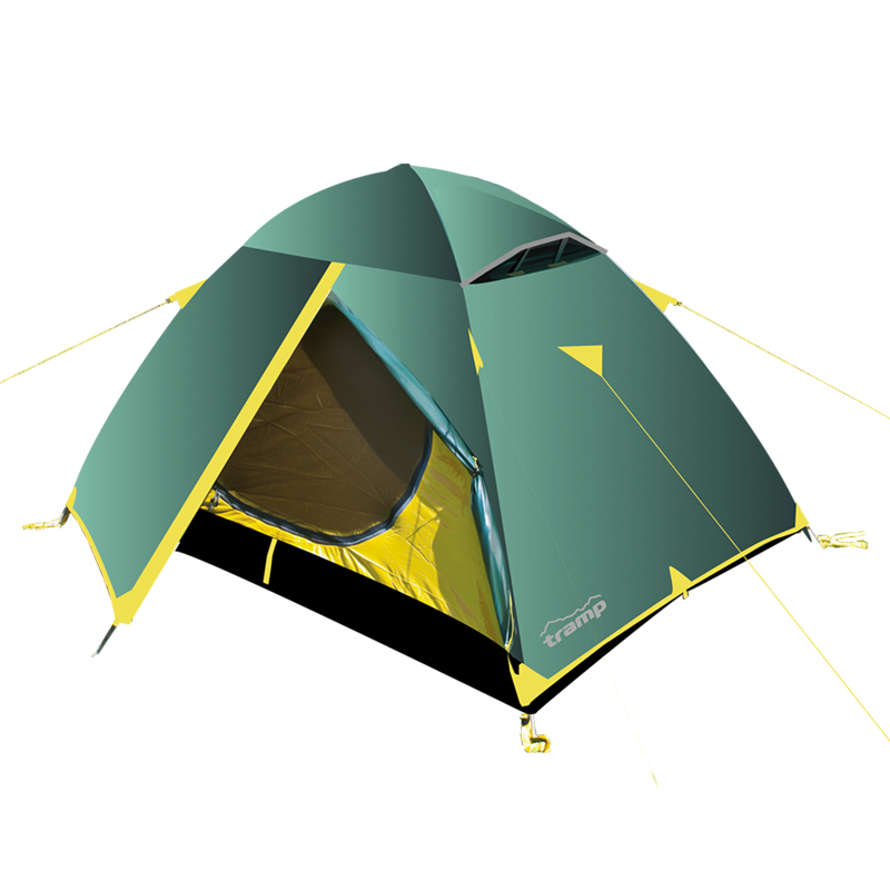 Палатка Тramp Scout 3, цвет: зеленый палатки greenell палатка дом 2
