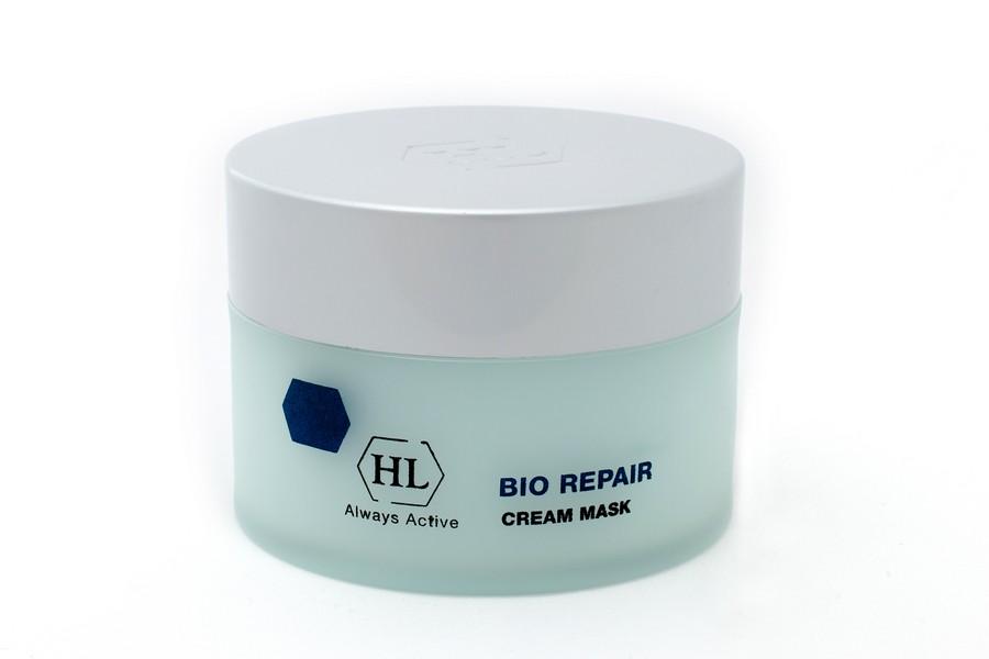 Holy Land Питательная маска Bio Repair Cream Mask 50 мл103087Интенсивная питательная крем-маска. Действие:Питательное, восстанавливающее, отбеливающее и подтягивающее действие. Смягчает кожу и улучшает ее структуру. Разглаживает морщины. Сокращает расширенные капилляры, оказывает антикуперозное действие. В послеоперационном периоде маскирует пятна, покраснения, расширенные капилляры и дисхромии.Активные компоненты: Repair Complex, пчелиный воск (противовоспалительное, ранозаживляющее, смягчающее и увлажняющее действие), лимонная кислота, диоксид титана, гуазулен. Repair Complex запатентованный комплекс растительных экстрактов и масел, обладающий уникальным восстанавливающим и сосудоукрепляющим действием. Гуазулен компонент эфирного масла цветков ромашки. Оказывает регенерирующее, успокаивающее, противовоспалительное и противоаллергическое действие.