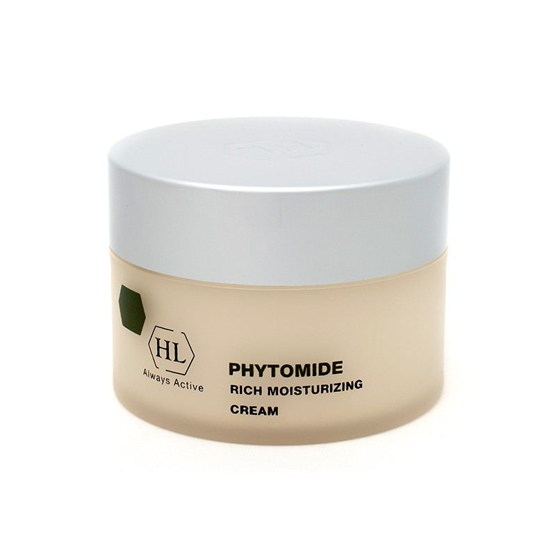 Holy Land Увлажняющий крем Phytomide Rich Moisturizing Cream Spf 12 50 мл holy land alpha complex multifruit system day defense cream spf 15 дневной защитный крем 50 мл