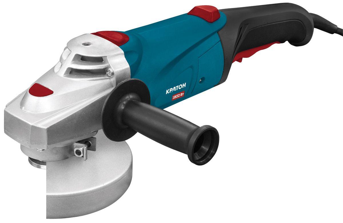Шлифмашина угловая Кратон AMG-1800-1803 05 01 033Шлифмашина угловая Кратон AMG-1800-180 предназначена для шлифования, зачистки и резки металлических конструкций. Возможна фиксация выключателя во включенном состоянии для продолжительных работ. Кожух препятствует попаданию искр и пыли на пользователя вовремя работы. Предусмотрена дополнительная рукоятка, которая способствует надежному удержанию инструмента. Она может устанавливаться слева, справа или сверху. Комплектация:Кожух защитный - 1 шт;Рукоятка дополнительная - 1 шт;Фланец опорный - 1 шт;Фланец зажимной - 1 шт;Ключ специальный - 1 шт.