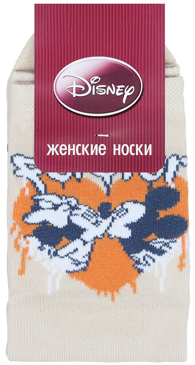 Носки женские Master Socks, цвет: бежевый. 15101. Размер 2315101Удобные носки Master Socks, изготовленные из высококачественного комбинированного материала, очень мягкие и приятные на ощупь, позволяют коже дышать.Эластичная резинка плотно облегает ногу, не сдавливая ее, обеспечивая комфорт и удобство. Носки оформлены принтом с изображением героев мультфильма.Практичные и комфортные носки великолепно подойдут к любой вашей обуви.