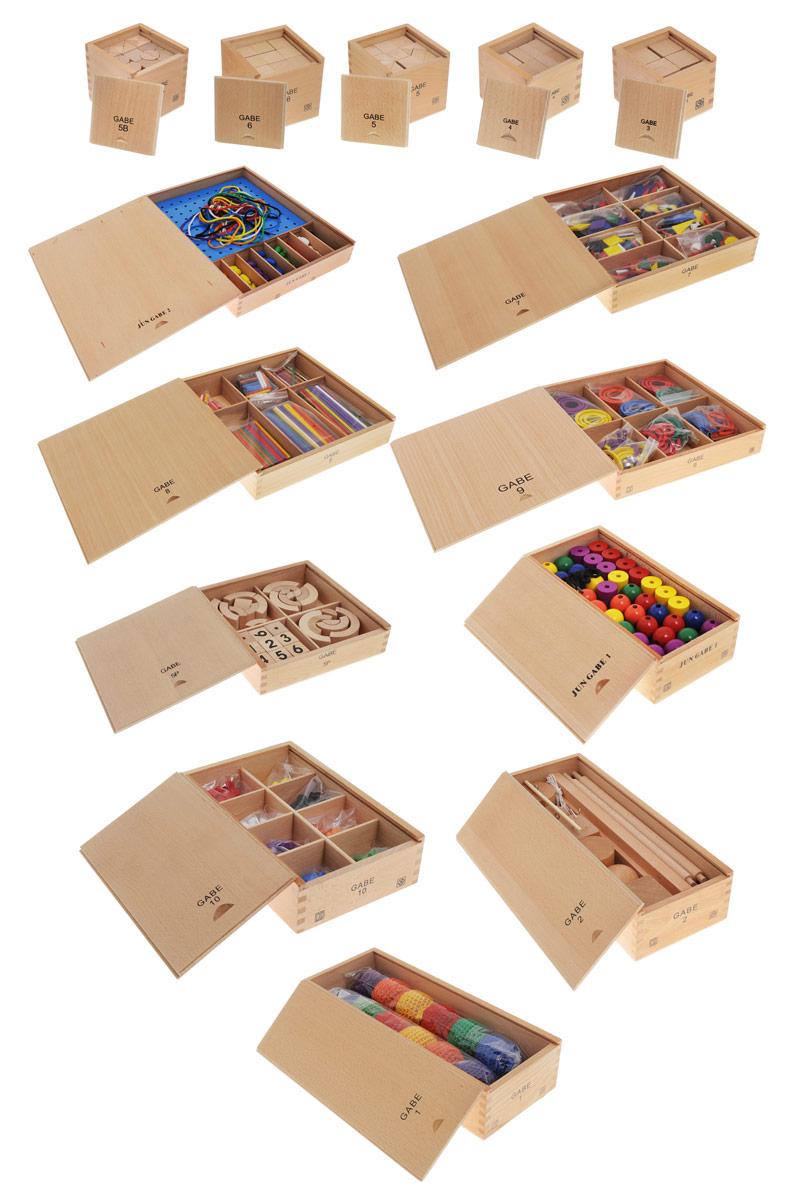 Мир деревянных игрушек Игровой набор  Монтессори  -