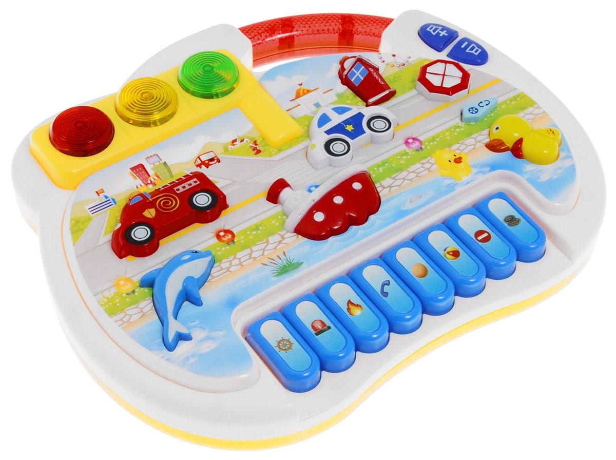 S+S Toys Пианино Перекресток детские компьютеры s s интерактивный планшет азбука дорожного движения
