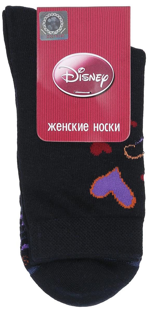 Носки женские Master Socks, цвет: темно-синий. 15100. Размер 2515100Удобные носки Master Socks, изготовленные из высококачественного комбинированного материала, очень мягкие и приятные на ощупь, позволяют коже дышать.Эластичная резинка плотно облегает ногу, не сдавливая ее, обеспечивая комфорт и удобство. Носки оформлены принтом с изображением героев мультфильма.Практичные и комфортные носки великолепно подойдут к любой вашей обуви.