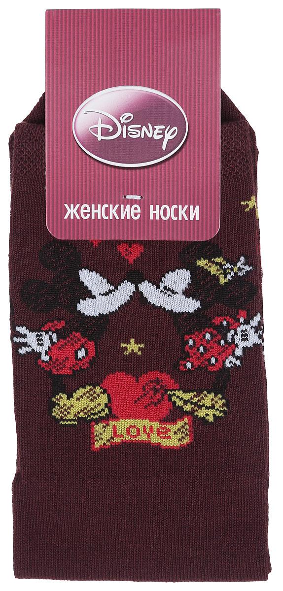 Носки женские Master Socks, цвет: коричневый. 15101. Размер 2315101Удобные носки Master Socks, изготовленные из высококачественного комбинированного материала, очень мягкие и приятные на ощупь, позволяют коже дышать.Эластичная резинка плотно облегает ногу, не сдавливая ее, обеспечивая комфорт и удобство. Носки оформлены принтом с изображением героев мультфильма.Практичные и комфортные носки великолепно подойдут к любой вашей обуви.