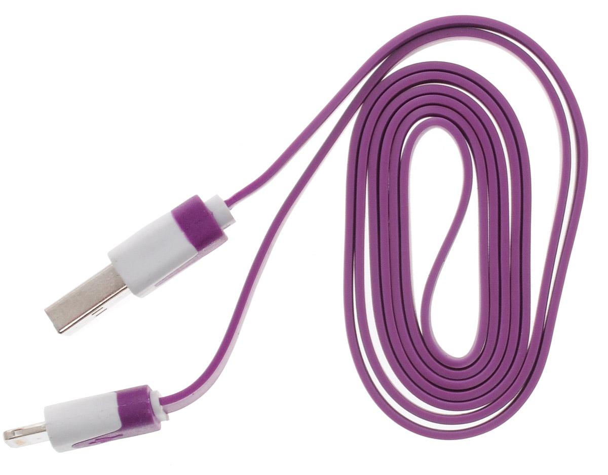 OLTO ACCZ-5015, Purple кабель USBO00000255Кабель OLTO ACCZ-5015 для соединения устройств разъемом Apple Lightning c USB-портом. Он может использоваться для передачи данных, зарядки аккумулятора и адаптирован для работы со всеми операционными системами. Главное достоинство OLTO ACCZ-5015 в его внешнем виде. Он выгодно отличается от привычных и скучных расцветок стандартных кабелей.