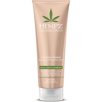 Hempz Гель для душа Бодрящий Кокос Coconut Fusion Energizing Herbal Body Wash 250 мл hempz гель для душа с ганатом pomegranate body wash 250 мл