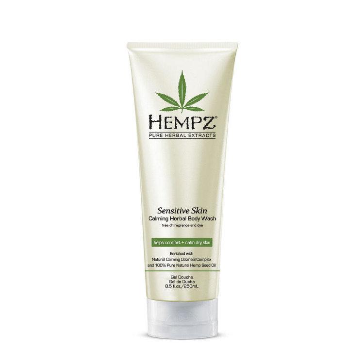 Hempz Гель для душа Чувствительная кожа Calming Herbal Body Wash 250 мл hempz гель для душа с ганатом pomegranate body wash 250 мл