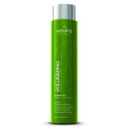 Hempz Шампунь для объема Volumizing Shampoo 300 мл676280013605Шампунь для придания объема Volumizing Shampoo - натуральное средство с мягким действием для ослабленных и тонких волос. В состав шампуня входят конопляное масло, содержащее свыше двадцати видов аминокислот, группа витаминов А, B1, B2, B3, B6, C, D, и E, а также пшеничные и соевые белки. Такой состав обеспечивает увеличение объема фибры волоса, что ведет к визуальному увеличению объема волос в целом и позволяет моделировать любой тип прически.Volumizing Shampoo обеспечивает действенную защиту волосам, оберегая их от негативных внешних воздействий, и стимулирует прикорневую зону, ускоряя рост новых волос. Эффект укрепления волосяной кутикулы будет более устойчивым, если после применения шампуня использовать кондиционер для придания объёма Volumizing Conditioner.Состав активных компонентов: экстракт и масло конопляных семян, гидролизированные соевые и пшеничные протеины, пантенол. С ароматом пряных трав и пачули.