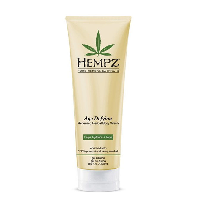 Hempz Скраб для тела Антивозрастной Age Defying Herbal Body Scrub 265 мл676280022140Бережно очищает кожу, придавая гладкость и мягкость, сохраняя естественный жировой и водный баланс кожи, предупреждает преждевременное старение кожи. Содержит очищенное конопляное масло и экстракт конопляных семян, натуральные травяные экстракты, которые питают, увлажняют, успокаивают и смягчают кожу.Специальная формула на основе гликолиевой кислоты с полипептидами, кофеином и морскими водорослями сокрщает появление мелких морщин и восстанавливает здоровый тон кожи.