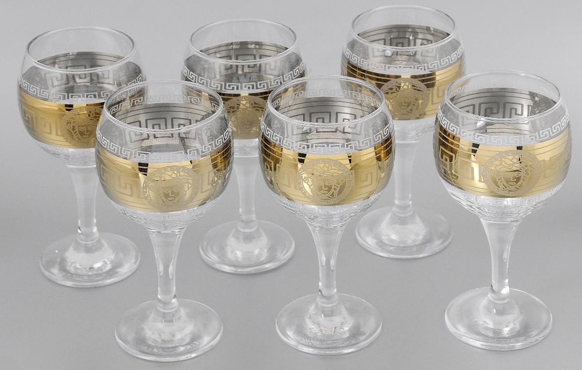 Набор бокалов для вина Мусатов Йети, 260 мл, 6 шт411/41Набор бокалов для вина Мусатов Йети изготовлен из натрий-кальций-силикатного стекла. Набор состоит из 6 бокалов, выполненных в элегантном дизайне. Набор предназначен для подачи вина. Набор бокалов Мусатов Йети прекрасно оформит праздничный стол и создаст приятную атмосферу за романтическим ужином. Такой набор также станет хорошим подарком к любому случаю.Можно мыть в посудомоечной машине.Диаметр бокала (по верхнему краю): 6,5 см. Высота бокала: 16,5 см. Диаметр основания бокала: 6,5 см.