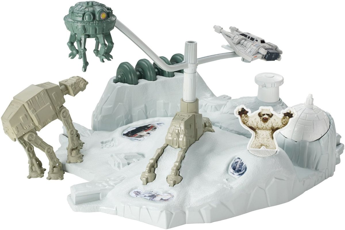 Hot Wheels Star Wars Игровой набор Hoth Echo Base Battle