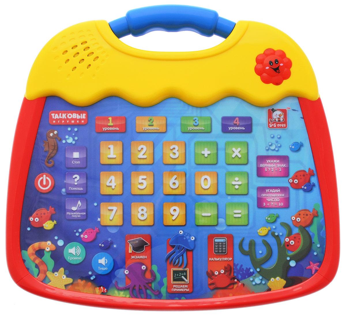 S+S Toys Интерактивный планшет Веселые цифры, Essa Toys Trading Co