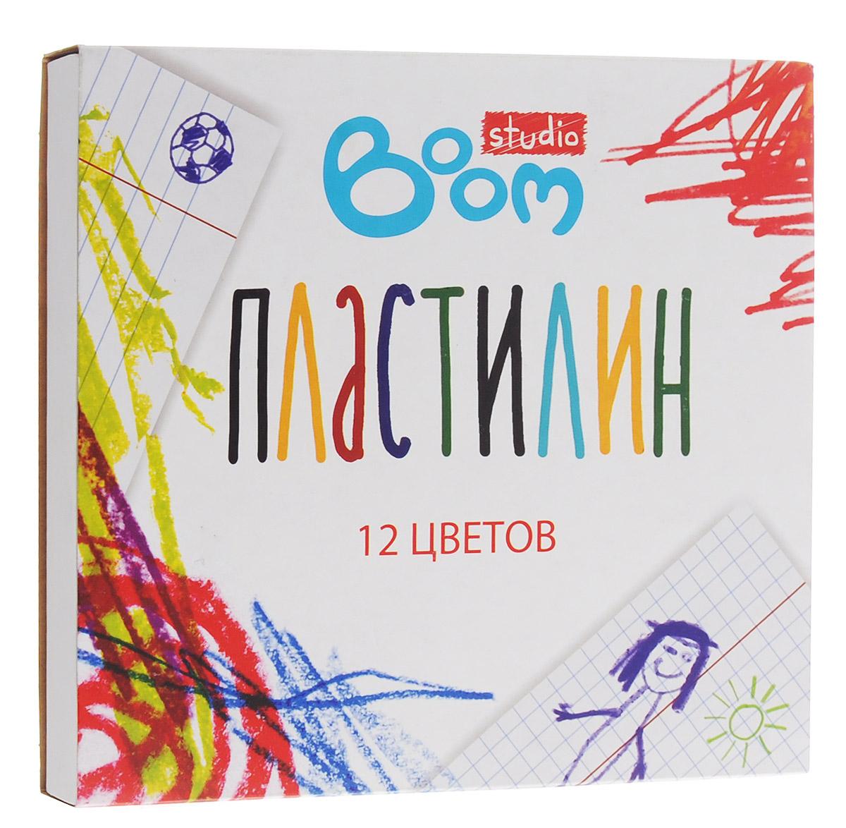Boom Пластилин Studio 12 цветовBS-1P12Пластилин Boom Studio, предназначенный для лепки и моделирования, поможет ребенку развить творческие способности, воображение и мелкую моторику рук. У пластилина отличные пластичные свойства - хорошо размягчается, не липнет к рукам, имеет яркие сочные цвета. Пластилин безопасен для здоровья при использовании по назначению.В наборе 12 цветов.