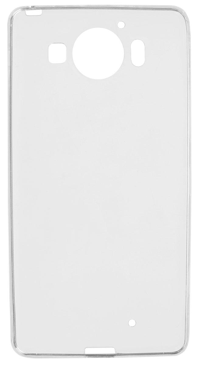 Red Line iBox Crystal чехол для Microsoft Lumia 950, ClearУТ000007777Практичный и тонкий силиконовый чехол Red Line iBox Crystal для Microsoft Lumia 950 защищает телефон отцарапин, ударов и других повреждений. Чехол изготовлен из высококачественного материала, плотно облегаетсмартфон и имеет все необходимые технологические отверстия, соответствующие модели телефона.Силиконовый чехол iBox Crystal долгое время сохраняет свою первоначальную форму и не растягивается насмартфоне.