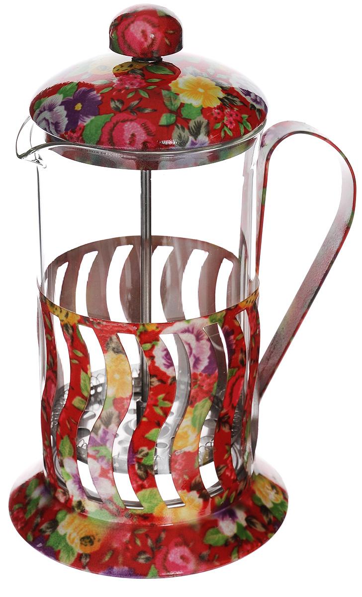 Френч-пресс Mayer & Boch, 600 мл. 2002920029Френч-пресс Mayer & Boch позволит быстро и просто приготовить свежий и ароматный чай иликофе. Корпусизготовлен из высококачественного жаропрочного боросиликатного стекла, устойчивого кокрашиванию,царапинам и термошоку. Фильтр-поршень из нержавеющей стали выполнен по технологии press- up дляобеспечения равномерной циркуляции воды.Готовить напитки с помощью френч-пресса очень просто. Насыпьте внутрь заварку и залейтекипятком.Остановить процесс заваривания легко. Для этого нужно просто опустить поршень, и заваркауйдет вниз,оставляя вверху напиток, готовый к употреблению.Заварочный чайник с прессом - это совершенный чайник для ежедневного использования.Практичный и стильныйдизайн полностью соответствует последним модным тенденциям в создании предметовкухонной утвари. Можно мыть в посудомоечной машине. Диаметр колбы: 8,5 см.Диаметр основания: 11,5 см. Высота (с учетом крышки): 22 см.