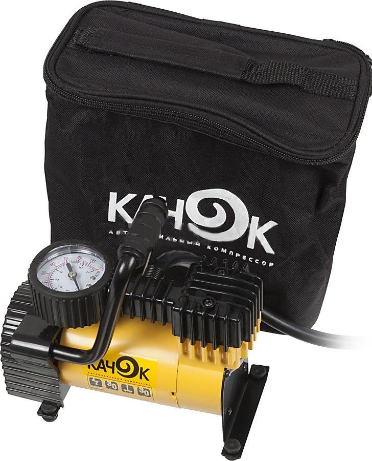 Автомобильный компрессор Качок K50K50Не только для обслуживания машины пригодится автомобильный компрессор КАЧОК K50. Это устройство универсально и будет полезно на даче, где поможет накачать надувной мяч, воздушный матрац, детский бассейн. В сочетании с различными насадками компрессор сумеет красить стены, завинчивать шурупы и забивать гвозди – это будет гораздо выгоднее, чем покупать соответствующий электроинструмент для каждой операции.