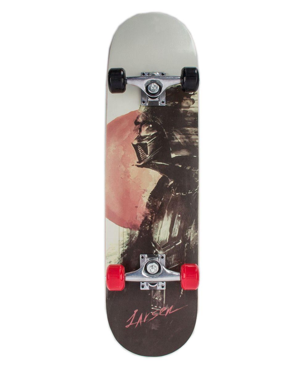 Скейтборд Larsen Park 1, цвет: черный, серый, дека 79 х 20 см ortuzzi 92a 201b 21hc