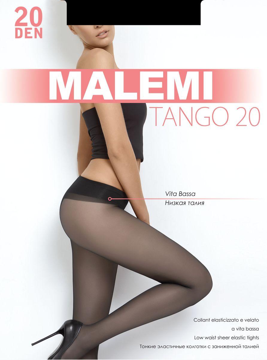 Колготки женские Malemi Tango 20, цвет: Nero (черный). 9053. Размер 2 (42/44)9053Стильные классические колготки Malemi Tango 20, изготовленные из эластичного полиамида, идеально дополнят ваш образ и превосходно подойдут к любым платьям и юбкам.Тонкие шелковистые колготки с формованными ножками легко тянутся, что делает их комфортными в носке. Гладкие и мягкие на ощупь, они имеют комфортный пояс, гигиеническую ластовицу и укрепленный прозрачный мысок. Идеальное облегание и комфорт гарантированы при каждом движении.Плотность: 20 den.