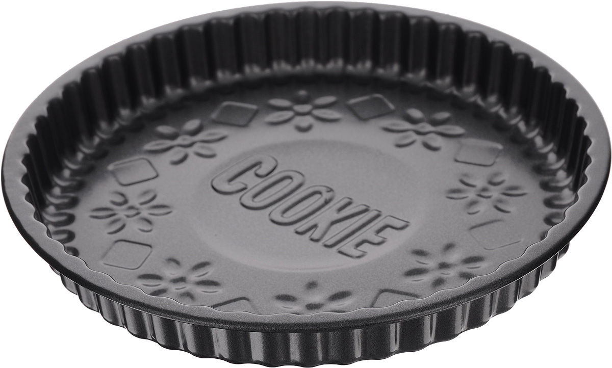 Форма для выпечки Mayer & Boch Unico, круглая, с антипригарным покрытием, диаметр 23,8 см20172Рифленая форма Mayer & Boch Unico, изготовленная из высококачественной углеродистой стали, предназначена для приготовления пирога и другой выпечки. Антипригарное покрытие обеспечивает легкую очистку формы после использования. Высокая теплопроводность способствует быстрому приготовлению пищи. С такой формой вы всегда сможете порадовать своих близких оригинальной выпечкой.Высота формы: 3,5 см.Внутренний диаметр формы: 22,8 см.