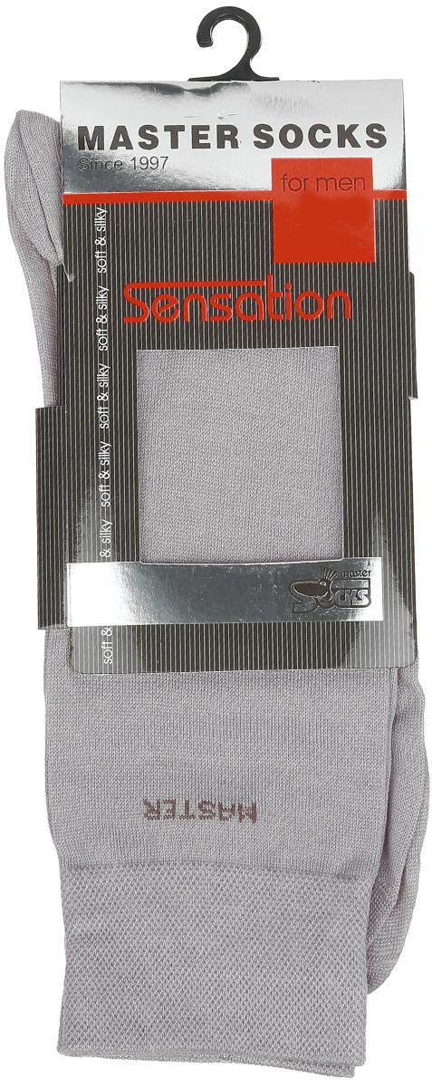 Носки мужские Master Socks, цвет: серый. 88705. Размер 2588705Удобные носки Master Socks, изготовленные из высококачественного комбинированного материала, очень мягкие и приятные на ощупь, позволяют коже дышать. Эластичная резинка плотно облегает ногу, не сдавливая ее, обеспечивая комфорт и удобство. Носки с паголенком классической длины и надписью Master Socks. Практичные и комфортные носки великолепно подойдут к любой вашей обуви.