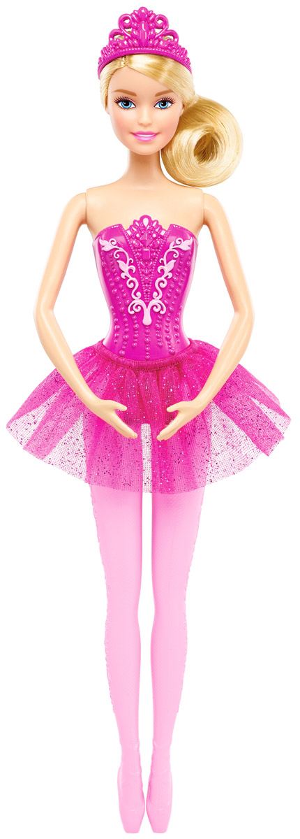 Barbie Кукла Балерина цвет юбки ярко-розовый