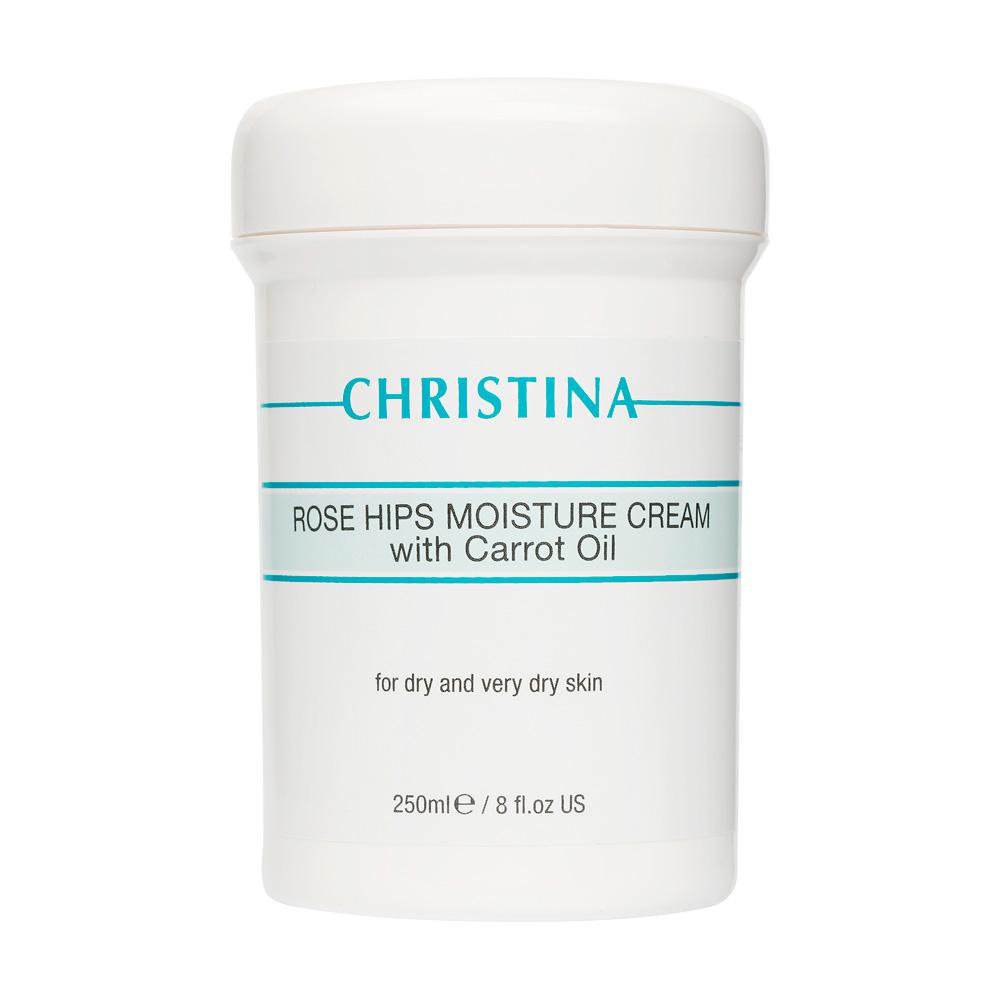 Christina Увлажняющий крем с маслом шиповника и морковным маслом Rose Hips Moisture Cream with Carrot Oil 250 мл
