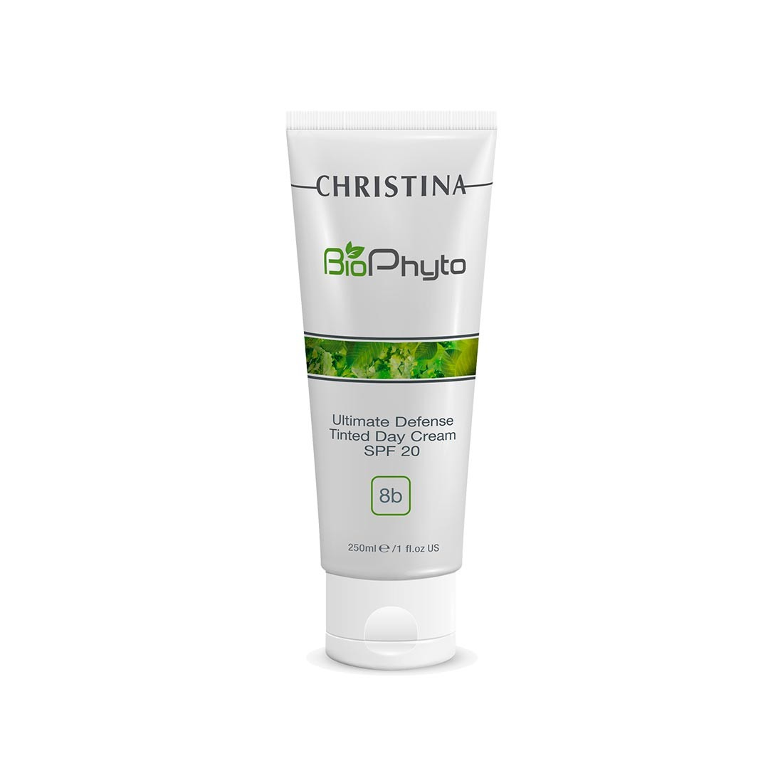 Christina Дневной крем Абсолютная защита SPF 20 с тоном Bio Phyto Ultimate Defense Tinted Day Cream SPF 75 мл дневной уход christina step 8b ultimate defense tinted day cream spf20