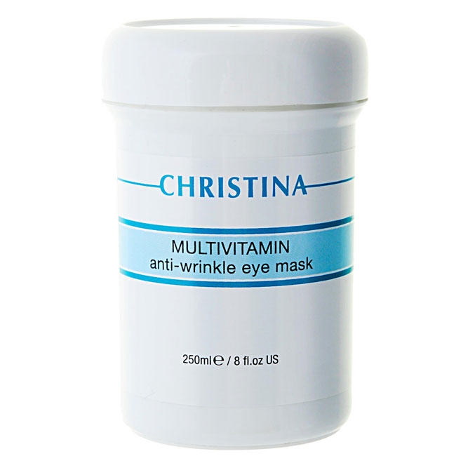 Christina Мультивитаминная маска для зоны вокруг глаз Multivitamin Anti-Wrinkle Eye Mask 250 мл