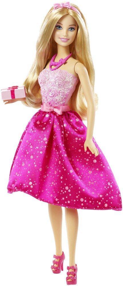 """Barbie Кукла-принцесса """"Поздравление с Днем Рождения"""""""