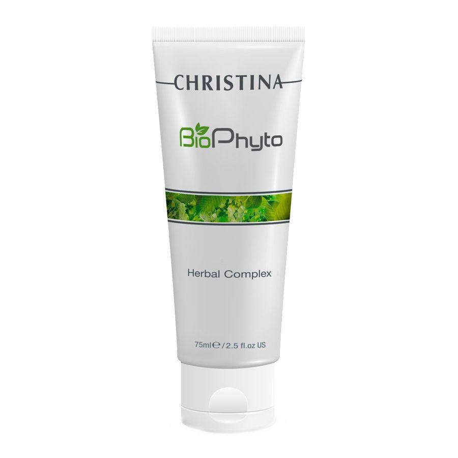 Christina Био-фито-пилинг облегченный для домашнего использования Bio Phyto Herbal Complex 75 мл christina азуленовая маска красоты для чувствительной кожи sea herbal beauty mask azulene 60 мл