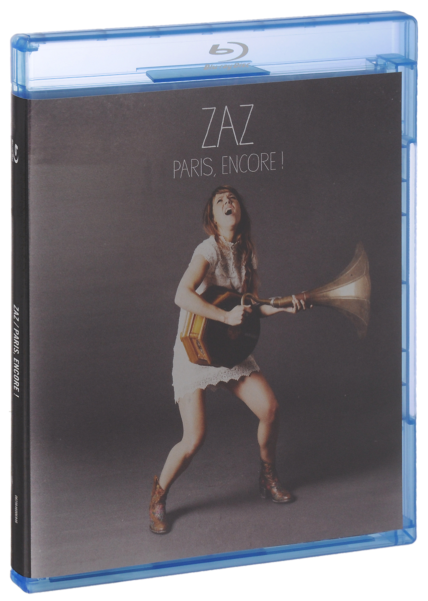 Zaz: Paris, Encore! (Blu-ray) soy luna live paris