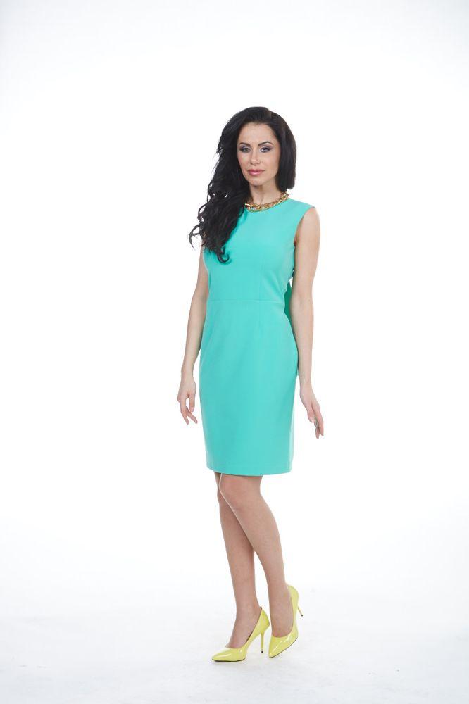 Платье Krisna Джоди, цвет: зеленый. Размер 52 krisna платье krisna kri ulana