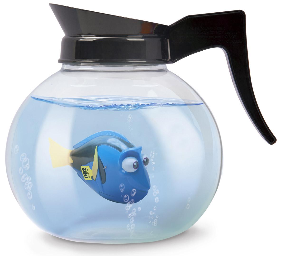 Dory Робот Рыбка Дори и аквариум-кофейник интерактивные игрушки robofish dory роборыбка немо и набор с треком