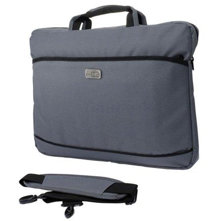 Сумка для ноутбука 17 PC Pet 600D, Grey (PCP-A1117GY)PCP-A1117GYПростая, тонкая сумка для ноутбуков с экраном диагональю 17.3 дюймов, выполненная из прочного и износостойкого нейлона. Внутри сумка обшита мягким материалом, который препятствует появлению царапин.