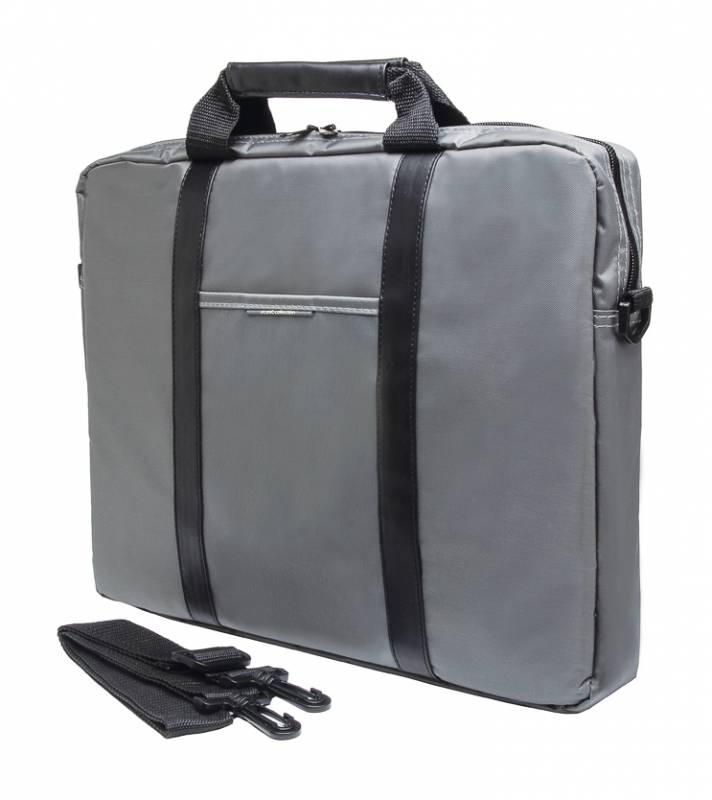 Сумка для ноутбука 15.6 PC Pet PCP-1003GR, Grey Black сумка для ноутбука pc pet pcp sl9015n