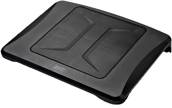 Подставка для ноутбука Deepcool N300, BlackN300Подставка до ноутбука Deepcool N300 - еффективное охлаждение Вашего ноутбука. Занимающая большую площадь металлическая решетка позволяет воздушному потоку эффективно охлаждать ноутбук. Свойство анти-скольжения гарантирует ноутбуку полную безопасность. Превосходный дизайн воздухозаборника. Эксклюзивный дизайн Deepcool N300 выглядит впечатляюще и привлекательно.