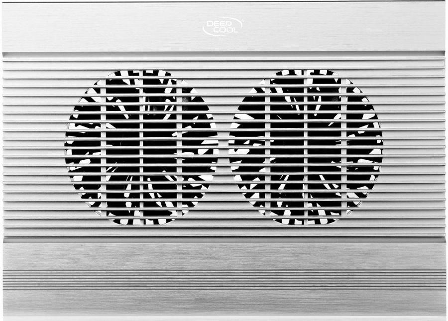 Подставка для ноутбука Deepcool N8, Silver Aluminum - Подставки для ноутбуков