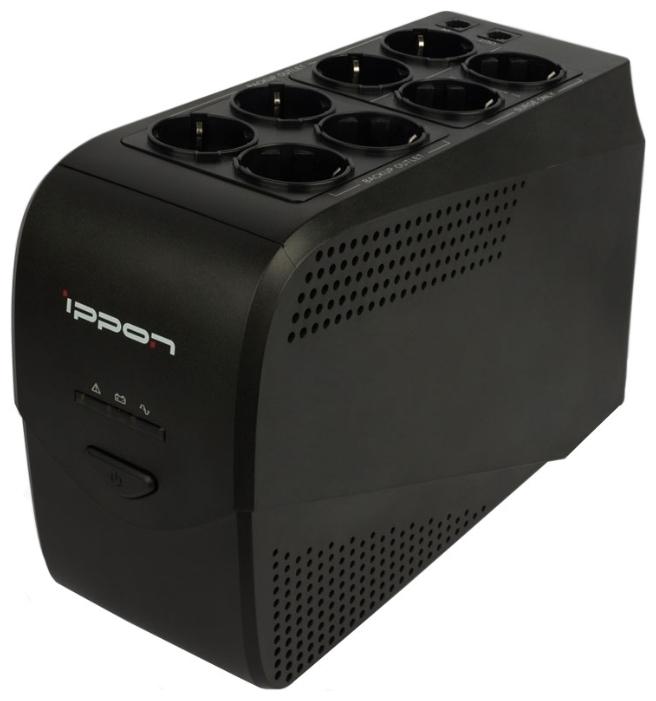 Источник бесперебойного питания Ippon Back Comfo Pro New 800 источник бесперебойного питания ippon back comfo pro new 600