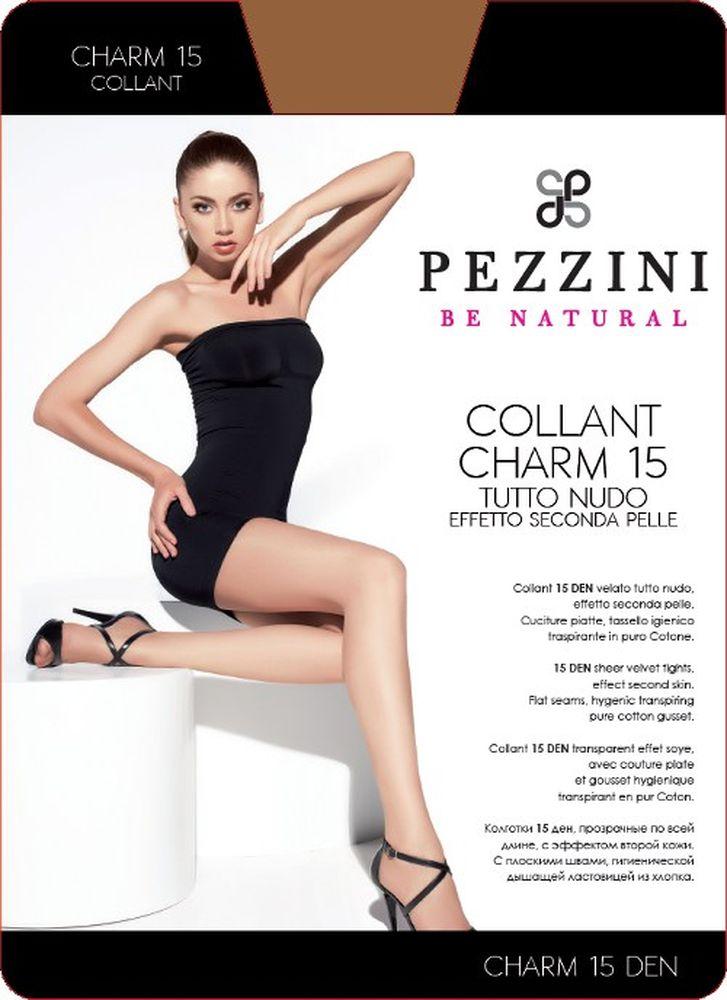 Колготки женские Pezzini Charm 15, цвет: Abbronzante (бронзовый). Ch15-ab. Размер 3 (M)Ch15-abСтильные классические колготки Pezzini Charm 15, изготовленные из эластичного полиамида, идеально дополнят ваш образ и превосходно подойдут к любым платьям и юбкам.Тонкие шелковистые колготки с формованными ножками легко тянутся, что делает их комфортными в носке. Гладкие и мягкие на ощупь, они имеют удобные плоские швы, гигиеническую ластовицу, комфортный мягкий пояс и укрепленный прозрачный мысок. Идеальное облегание и комфорт гарантированы при каждом движении.Плотность: 15 den.