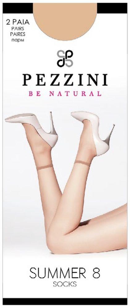 Носки женские Pezzini Summer 8, цвет: Cognac (коричневый), 2 пары. Su8-co-un. Размер универсальныйSu8-co-unУдобные женские носки Pezzini Summer 8, изготовленные из высококачественного эластичного полиамида, идеально подойдут для повседневной носки. Входящий в состав материала полиамид обеспечивает износостойкость, а эластан позволяет носочкам легко тянуться, что делает их комфортными в носке.Эластичная резинка плотно облегает ногу, не сдавливая ее, обеспечивая комфорт и удобство и не препятствуя кровообращению. Практичные и комфортные носки с укрепленным прозрачным мыском великолепно подойдут к любой открытой обуви. В комплект входят 2 пары носков. Плотность: 8 den.Уважаемые клиенты! Обращаем ваше внимание на возможные изменения в дизайне упаковки. Качественные характеристики товара остаются неизменными. Поставка осуществляется в зависимости от наличия на складе.