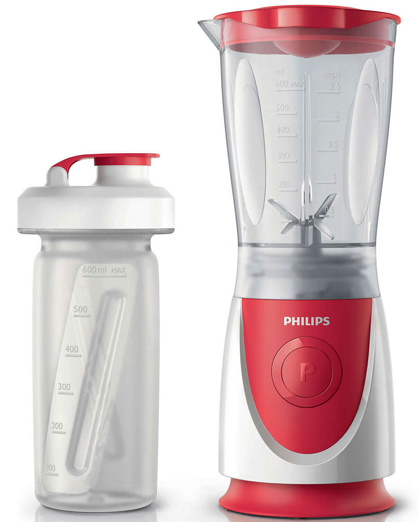 Philips HR2872/00 Daily Collection блендер philips philips daily collection hr2872 00 красный стационарный 350вт