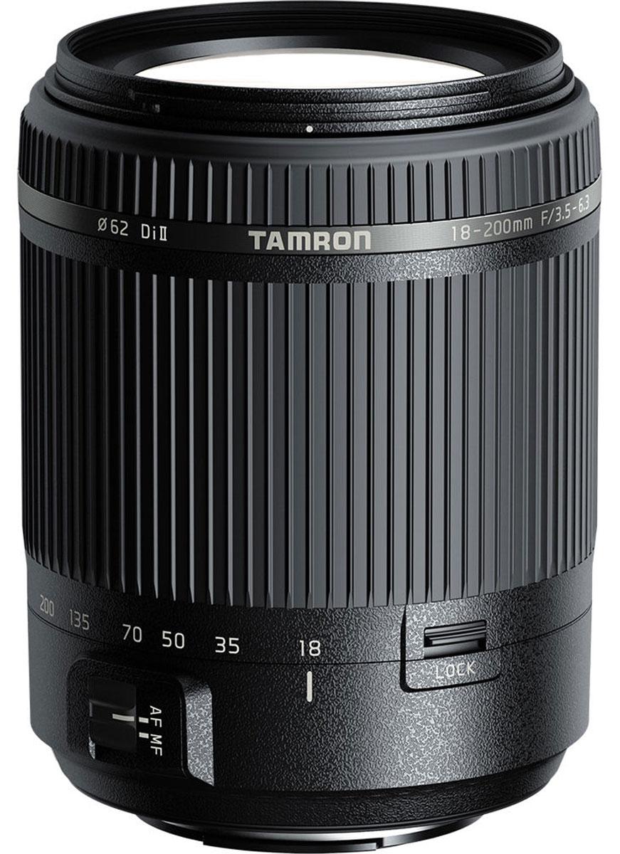 Tamron AF 18-200мм F/3.5-6.3 Di II объектив для SonyB018SОбъектив Tamron AF 18-200мм F/3.5-6.3 Di II имеет современную оптическую и механическую конструкцию, что позволило обеспечить компактность и быстродействие.Диапазон зуммирования от 18 до 200 мм (эквивалент 35-мм пленки: 28–310 мм) означает, что пользователю больше не нужно менять объектив даже при переходе от широкоугольной съемки в ограниченном пространстве к телефотосъемке удаленных объектов. Этот объектив идеально подойдет для создания больших групповых снимков, семейных фотографий, портретов, пейзажей, снимков животных и школьных мероприятий и даже для крупноплановой кулинарной съемки (с расстояния менее 0,5 м).В оптической конструкции объектива, включающей в себя 16 элементов в 14 группах, используется элемент из низкодисперсного стекла, который сводит к минимуму хроматические аберрации. Несмотря на легкий и компактный механизм, данная модель предлагает исключительно высокие оптические характеристики. Семилепестковая диафрагма сохраняет почти идеально круглую форму даже на две ступени ниже максимального значения, что позволяет получать превосходный эффект боке с красиво размытыми источниками света естественно круглой формы.Для повышения надежности и увеличения срока службы в новом объективе Tamron используется влагозащищенная конструкция, помогающая предохранять объектив от повреждений. Также в этом объективе реализована функция Zoom Lock, предотвращающая нежелательное выдвижение объектива при ношении камеры с установленным объективом, направленным вниз.